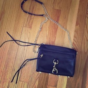 Rebecca Minkoff Mini Mac - Black Cherry